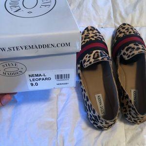 Steve Madden Nema leopard flats